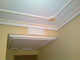 Techos de escayola modernos good pero las molduras en techos siempre quedan muy bien y se usan - Escayola decorativa techo ...